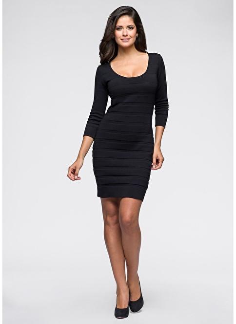 Bonprix Elbise Siyah